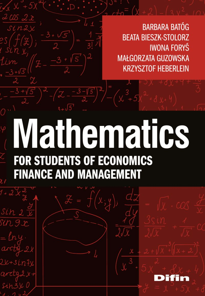 Mathematics okładka